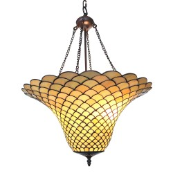 Lampe suspendue Tiffany