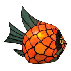 Table lamp Tiffany fish