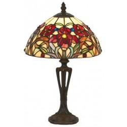 Lampe Iris rouge
