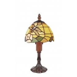 Lampe style Tiffany Libellule