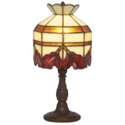 Lampe style Tiffany Cyclamen