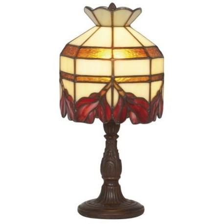 Tiffany style lamp Cyclamen