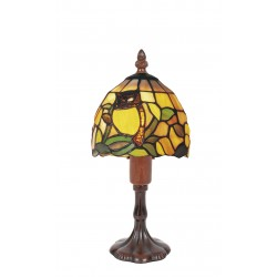 Lampe style Tiffany Hibou
