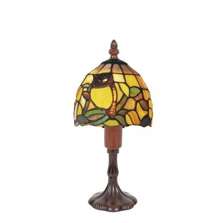 Tiffany style lamp Owl
