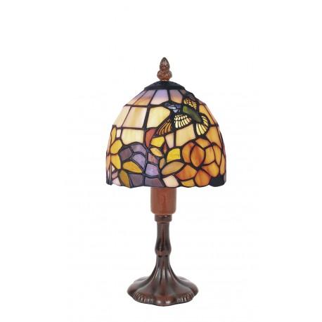 Tiffany style lamp Humming-bird